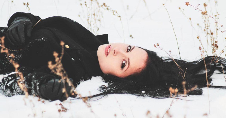 finnar på vintern