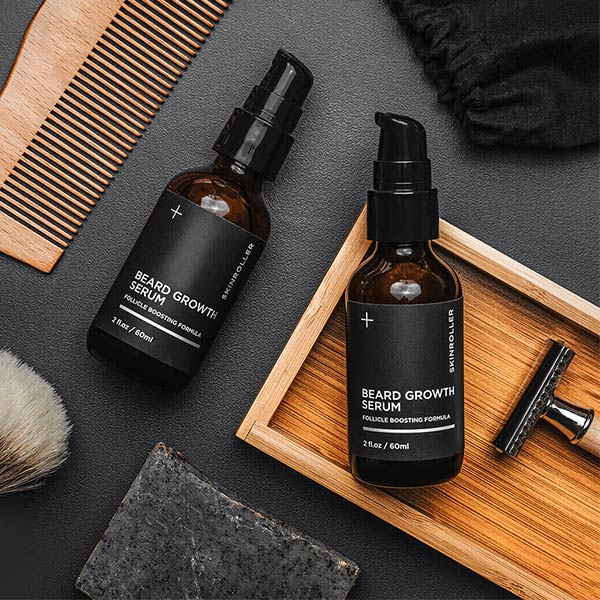 Beard Growth Kit - Öka skäggväxt - 2 step 60ml