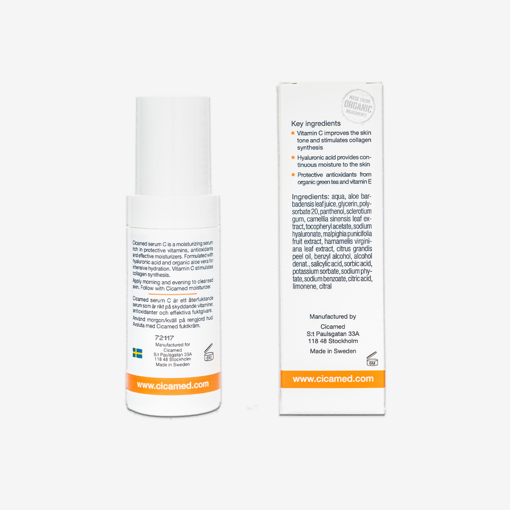 Cicamed Organic Science Vitamin C-serum 30ml