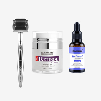 Neutrihers Retinol Kit & Skinroller