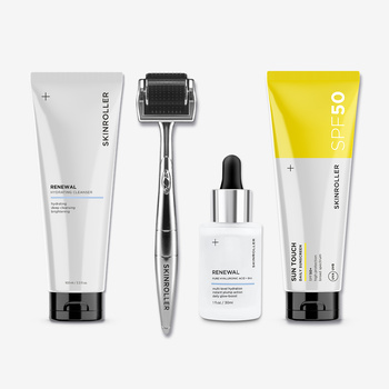 Hydrate & Glow - Skinroller Medium Kit SPF
